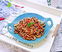 #做道好菜,自我宠爱!#孜然烤杏鲍菇条的做法