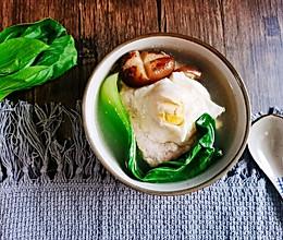 #肉食主义狂欢#鸡蛋肉饼汤的做法