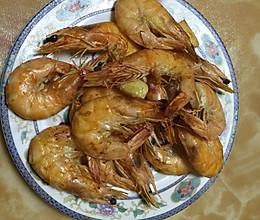盐焗大虾(空气炸锅)的做法