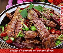 又到吃虾季---【麻辣虾爬子】的做法