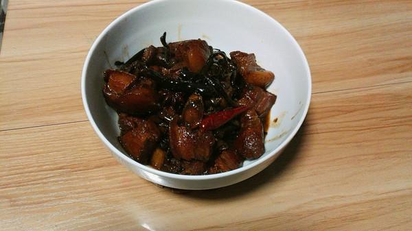 东北榛蘑炖红烧肉的做法