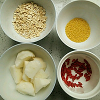 【迷之养生】山药小米粥的做法图解1
