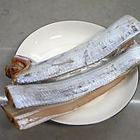#精品菜谱挑战赛# 清蒸带鱼的做法图解1