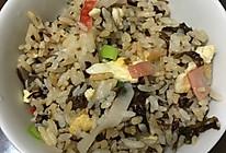 紫菜炒饭的做法