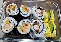 正反卷寿司(肉松、蟹棒)+玉子烧(厚蛋烧)初学者的做法