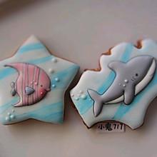 糖霜饼干|夏天来自海洋的问候