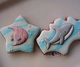 糖霜饼干|夏天来自海洋的问候的做法