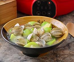 丝瓜白蛤汤的做法