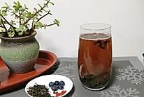 枸杞蓝莓果茶的做法