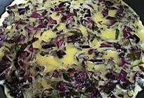 自种紫苏之紫苏煎蛋的做法