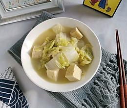 大白菜炖冻豆腐的做法