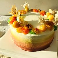 春华秋实#暖色秋季#马卡龙·奶油蛋糕看过来#的做法图解17