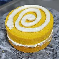 #马卡龙·奶油蛋糕看过来#暖色秋季—秋的收获—南瓜翻糖蛋糕的做法图解17