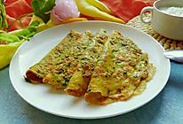 蔬菜鸡蛋饼#美的早安豆浆机#的做法