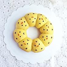 小黄鸡挤挤面包