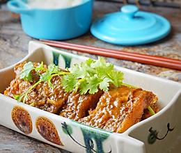 家烧鳎目鱼#宴客拿手菜#的做法