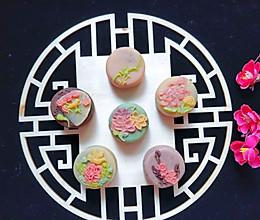 #晒出你的团圆大餐#鸟语花香桃山皮月饼的做法