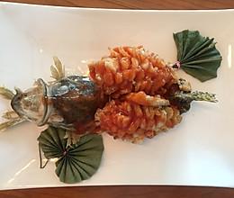 松鼠桂鱼的做法