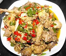 双椒三黄鸡的做法