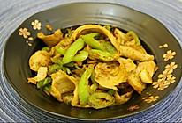 青椒炒面筋的做法