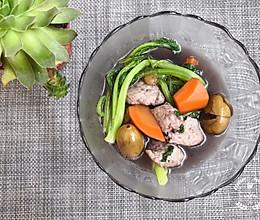 #炎夏消暑就吃「它」#春菜橄榄滚鲮鱼滑的做法
