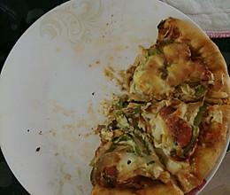 空气炸锅披萨的做法