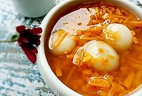 番薯丝红糖汤圆的做法