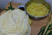 土豆丝卷饼的  土豆丝的做法