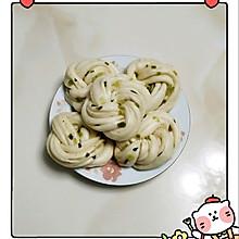 葱油花卷(一次发酵)