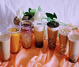 冬季热销七种口味网红冷热饮的做法