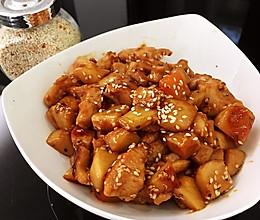 照烧汁鸡胸杏鲍菇的做法
