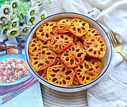 #今天吃什么#酥到掉渣的炸藕片的做法