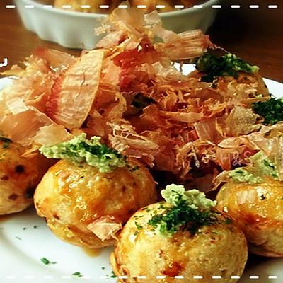 「海贼王Sanji料理」⒄女生专享の低卡章鱼烧(222话)