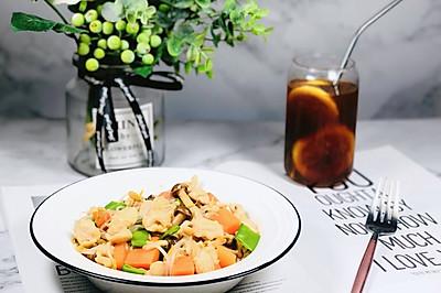 会吃上瘾的减脂沙拉—红萝卜鸡肉沙拉