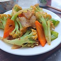 香菇酱炒花菜