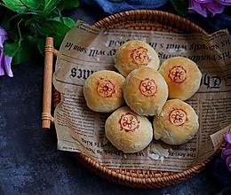 苏式鲜肉榨菜月饼#秋天怎么吃#的做法