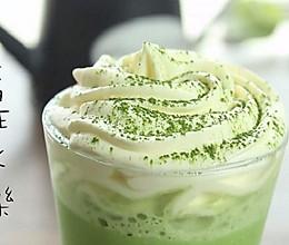 抹茶星冰乐「miu的食光记」的做法