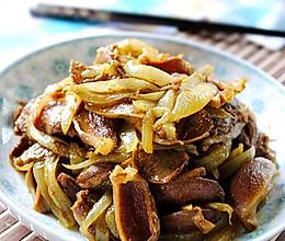 洋葱鸭胗咖喱炒的做法