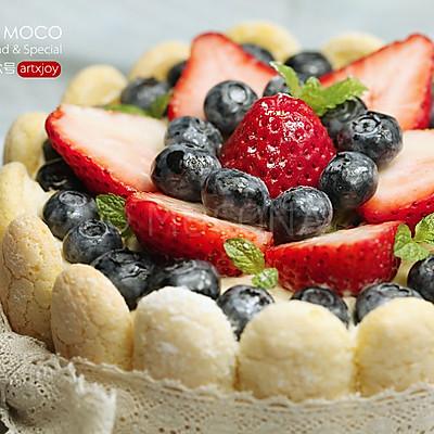美莓夏洛特蛋糕
