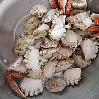 香辣酱梭子蟹的做法图解1
