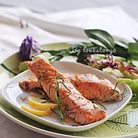 迷迭香煎三文鱼#宜家让家更有味#的做法图解10