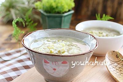 大米绿豆粥--豆浆机版