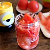 番茄柚子汁的做法图解3