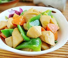 清炒胡萝卜杏鲍菇  的做法
