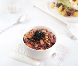 健康轻食-金枪鱼泡菜炒饭&烤土豆沙拉的做法