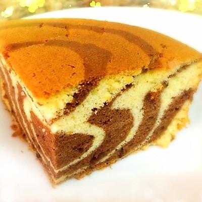 虎纹戚风蛋糕