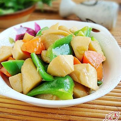 清炒胡萝卜杏鲍菇