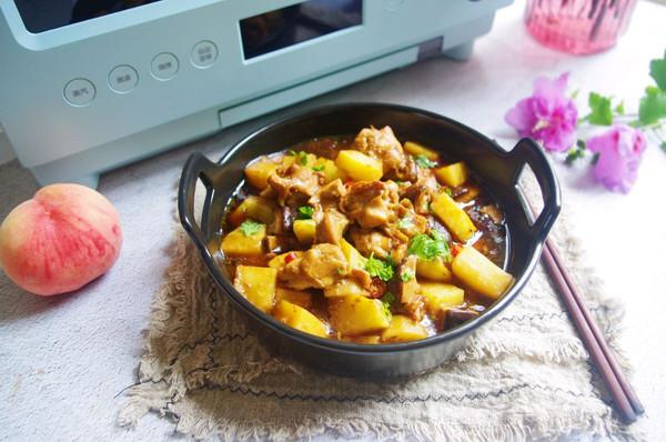 土豆蒸鸡块