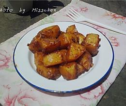 酱油焖土豆的做法