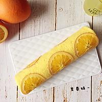 香橙蛋糕卷的做法图解20
